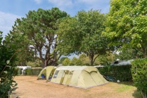Camping Le Letty - Emplacement confort